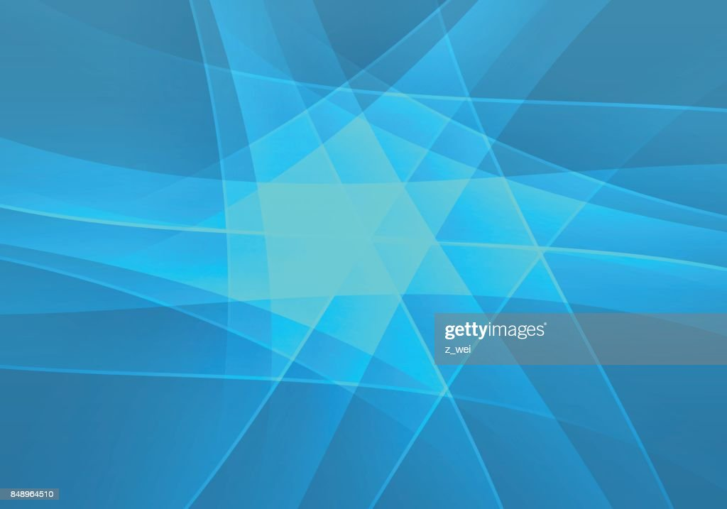 Business blue polygon background
