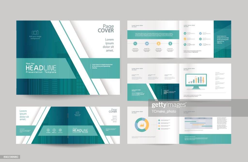 Business Broschüre Design Vorlagen Und Seitenlayout ...