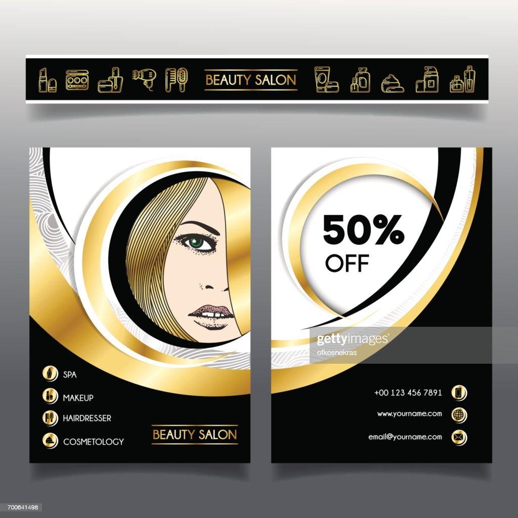 Businessbroschürevorlage Für Schönheitssalons Und Hairdressing2 ...