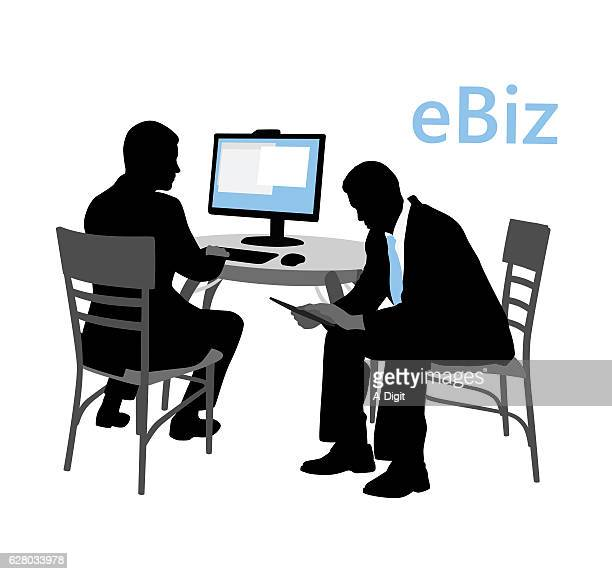 business brothers - bad posture stock illustrations, clip art, cartoons, & icons