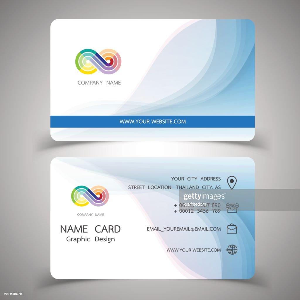 Business card design setvector illustrations vector art getty images business card design setctor illustrations vector art reheart Images
