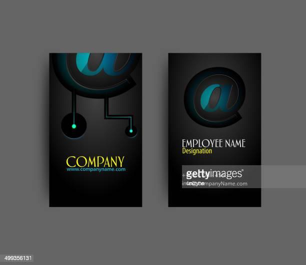Design de Cartão de Negócios