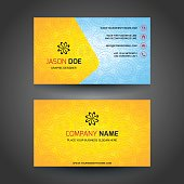 Business Card - Golden Floral Luxury