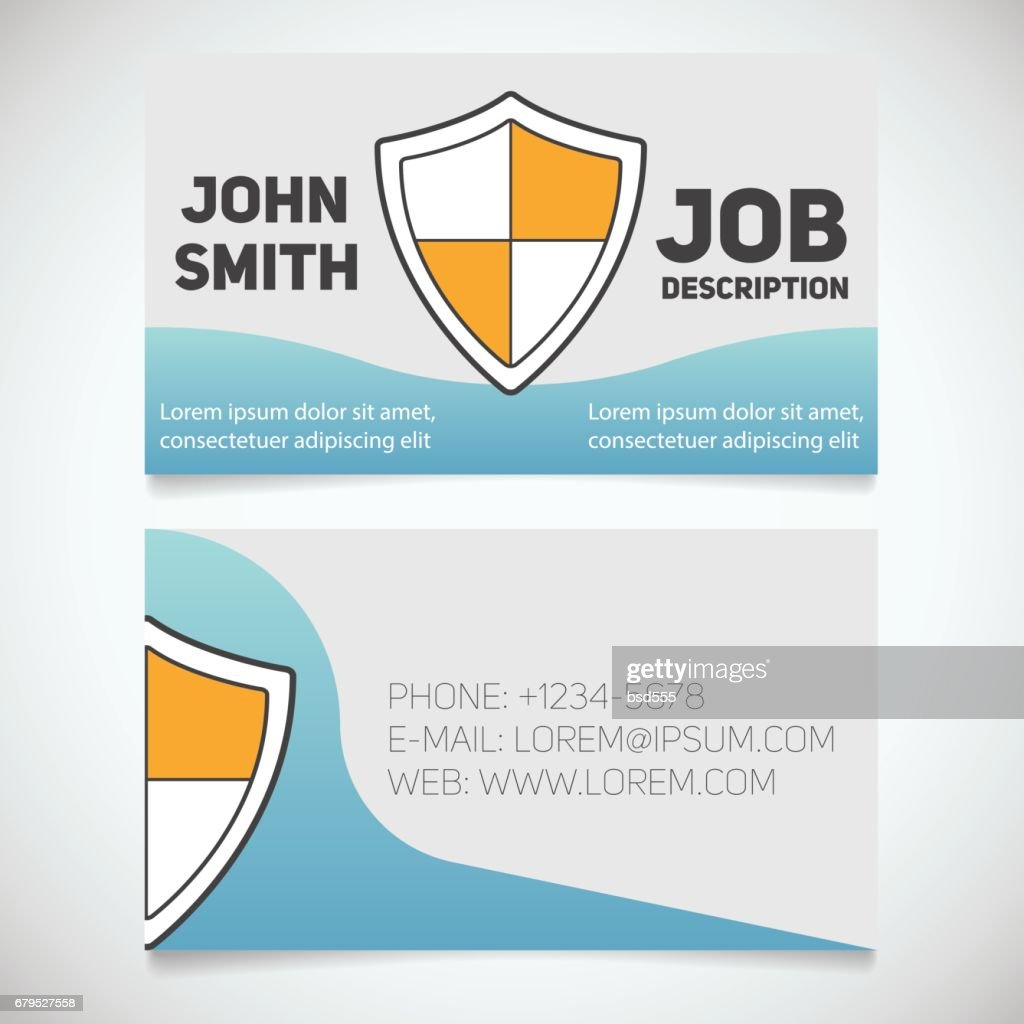 business card print template vector art getty images