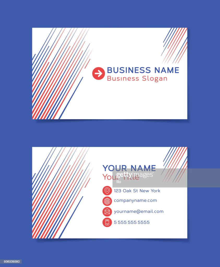 Business Line Card Template from media.gettyimages.com