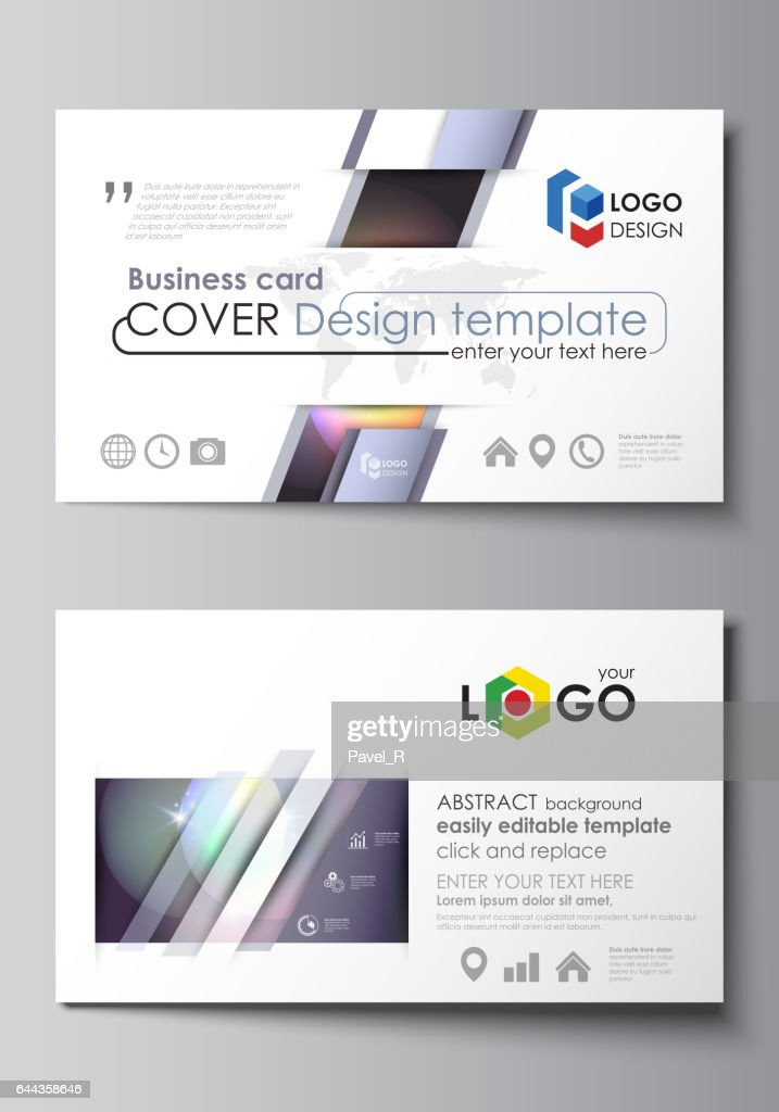 Business card templates easy editable layout abstract vector business card templates easy editable layout abstract vector template retro style mystical reheart Choice Image