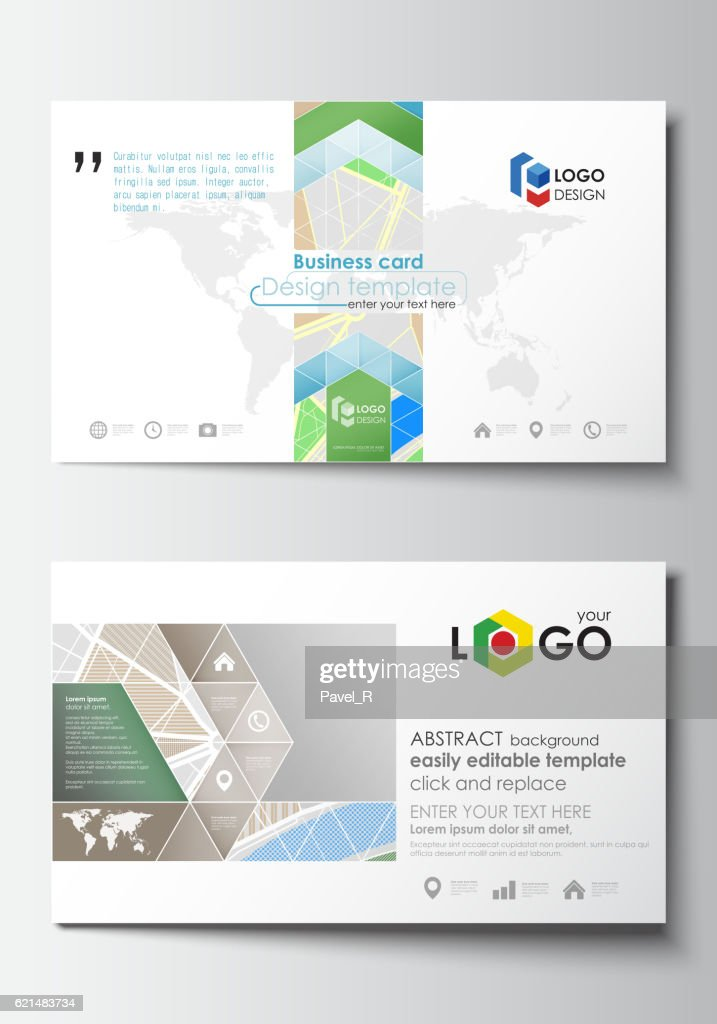 Business card templates easy editable layout city map with streets business card templates easy editable layout city map with streets vector art fbccfo Choice Image
