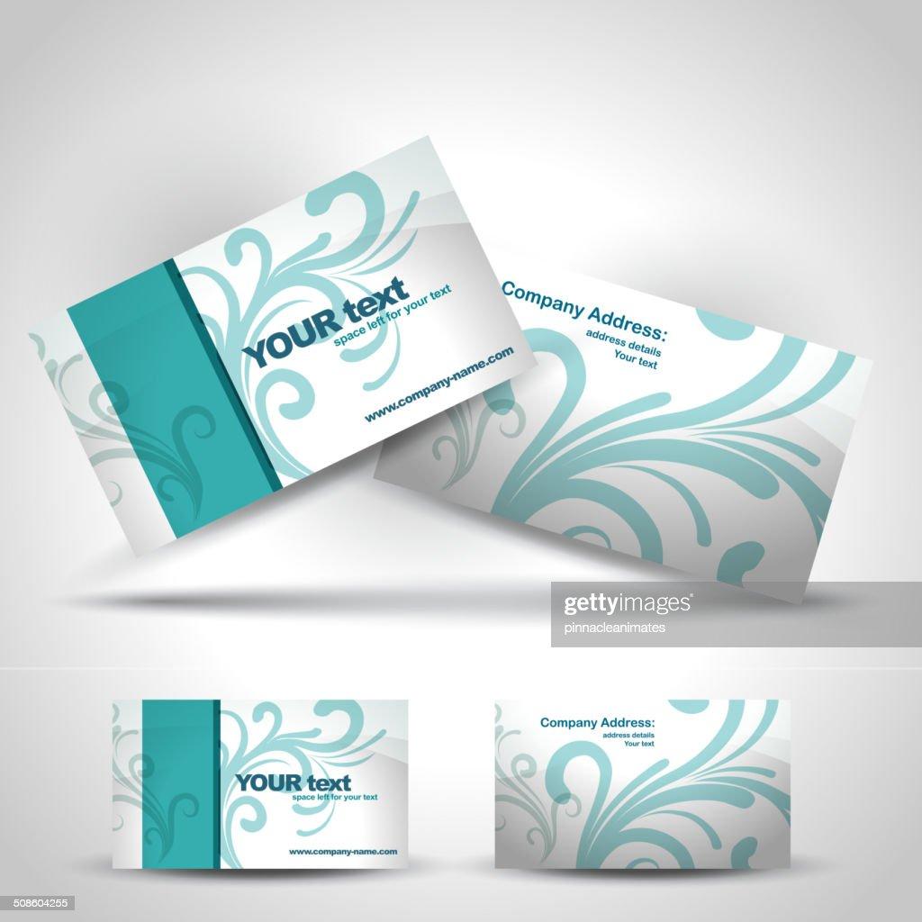 business card : Vector Art