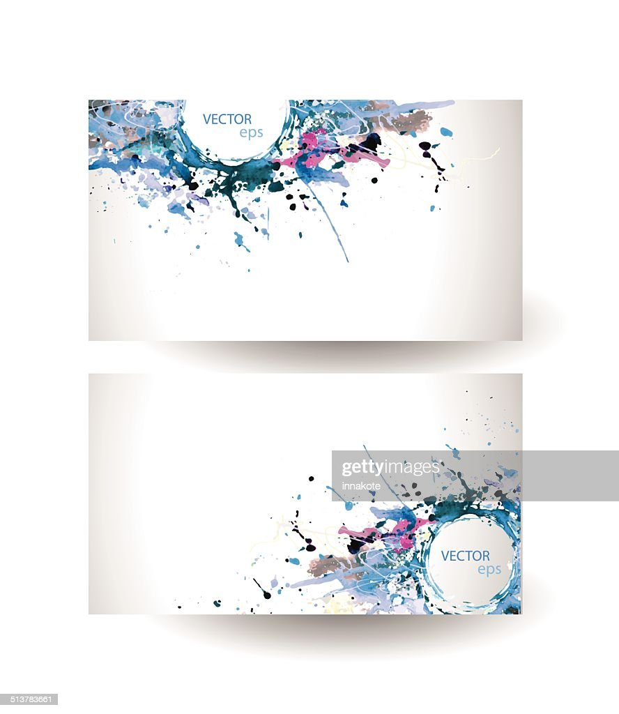 Business cards template abstract spray paint vector art getty images business cards template abstract spray paint vector art colourmoves