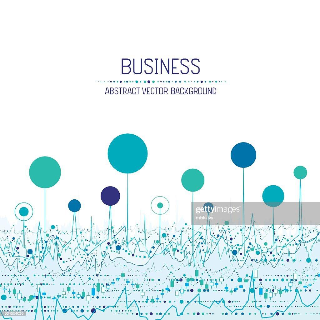 Business chart background : stock illustration