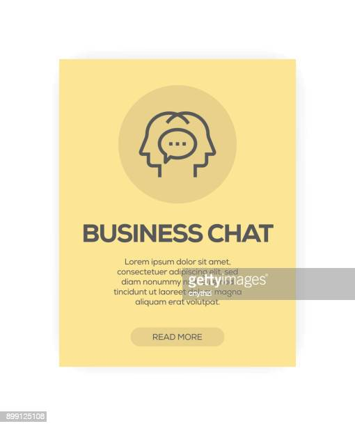 Business Chat Concept