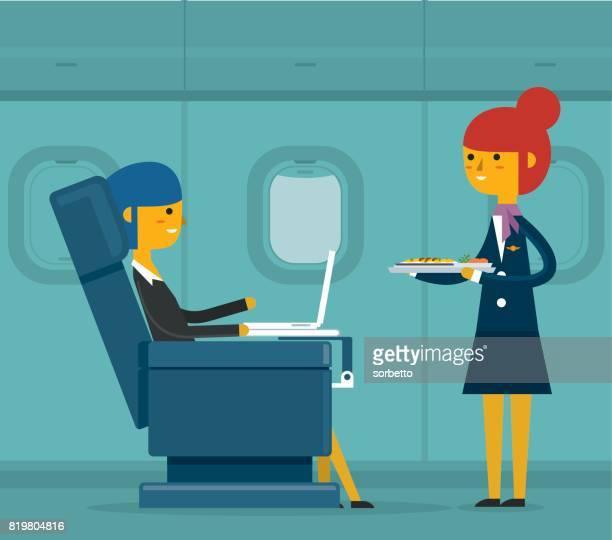 Business class - Businesswoman