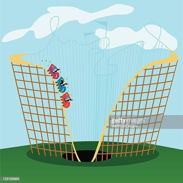 business coaster - money to burn stock illustrations, clip art, cartoons, & icons