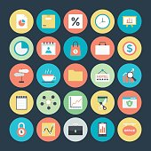 Business Colored Vector Icons 6