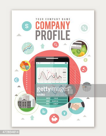 Business Company Profile Vector Art | Getty Images