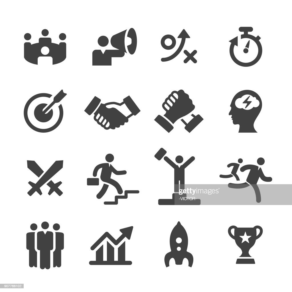 Business Competition Icons - Acme Series