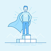 Business competition winner - super hero