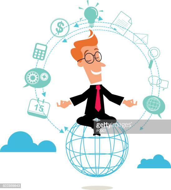 Business Concept - Balancing Act