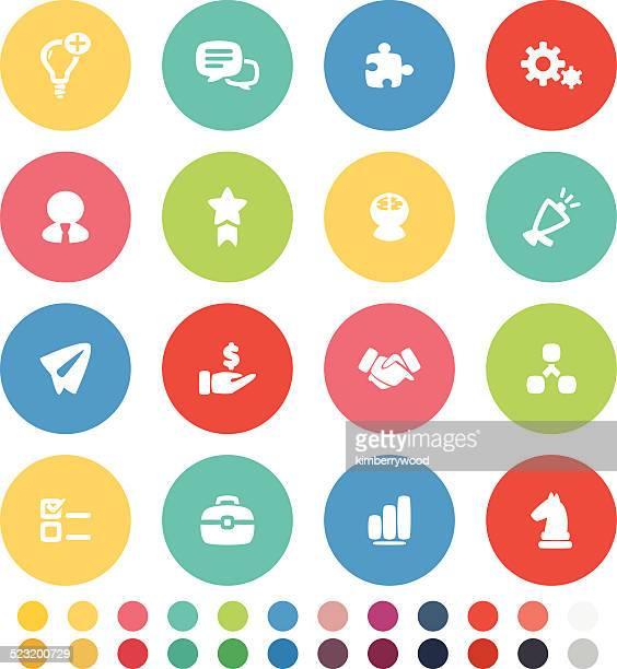 illustrations, cliparts, dessins animés et icônes de icône de concept d'affaires - touche de clavier