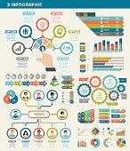 vector illustration business concept infographic element