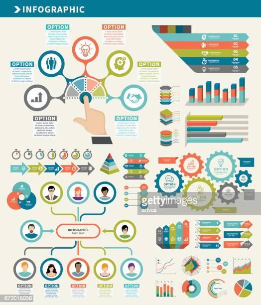 Business Konzept Infografik Element