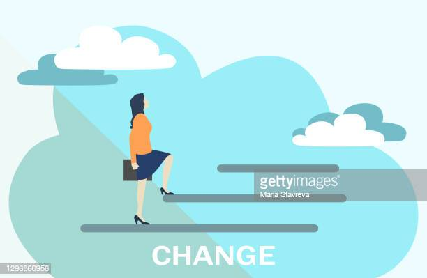 business concept of changing. - independence stock illustrations