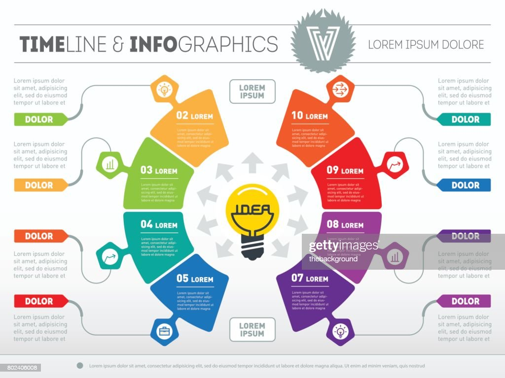 Business concept with 8 options from idea to final product web business concept with 8 options from idea to final product web template of a accmission Images