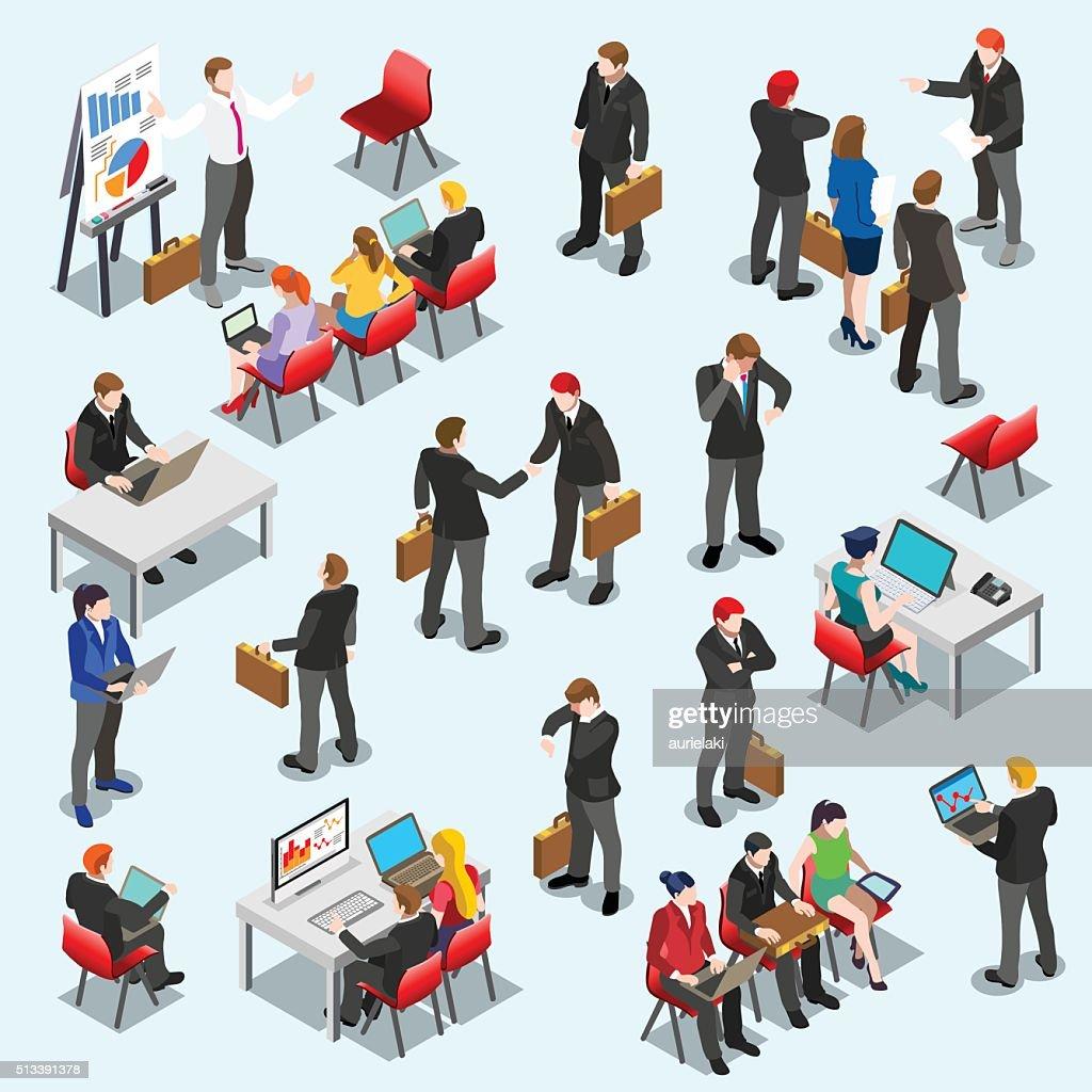 Business Data Set Isometic People