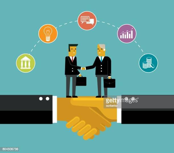 Business deal - businessman