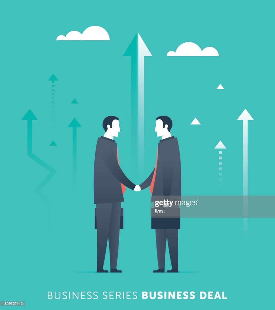 Business Deal : stock illustration