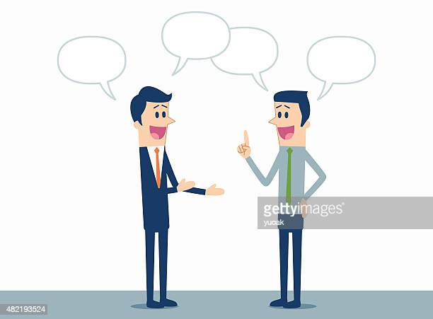 business discussion - political rally stock illustrations, clip art, cartoons, & icons