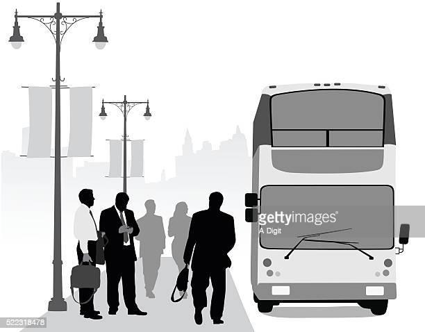 Negocio Distrito de tránsito urbano