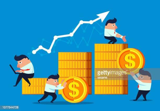 business economic development - accountancy stock illustrations, clip art, cartoons, & icons