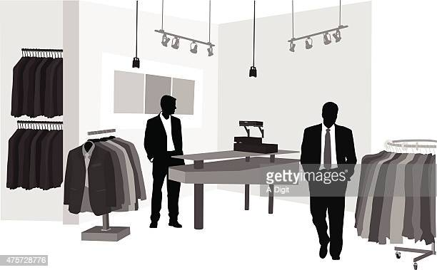 business fashion - retail display stock illustrations, clip art, cartoons, & icons