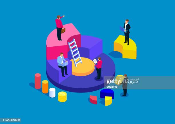 unternehmensfinanzierung finanzmanagement und-analyse - investition stock-grafiken, -clipart, -cartoons und -symbole