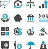 Business & Finance Icon Set   Concise Series