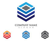 Business Finance Logo template vector icon design