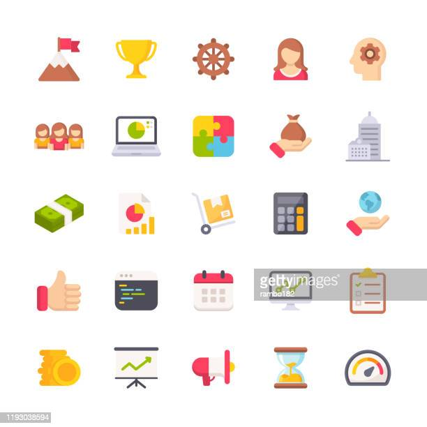 business flat icons. material design icons. pixel perfect. for mobile and web. contains such icons as achievement, success, support, trophy, time management, isometric money, chart, finance, delivery, office. - human body part stock illustrations