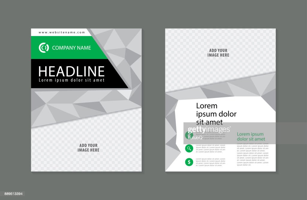business flyer design template modern brochure leaflet catalog magazine layout in letter