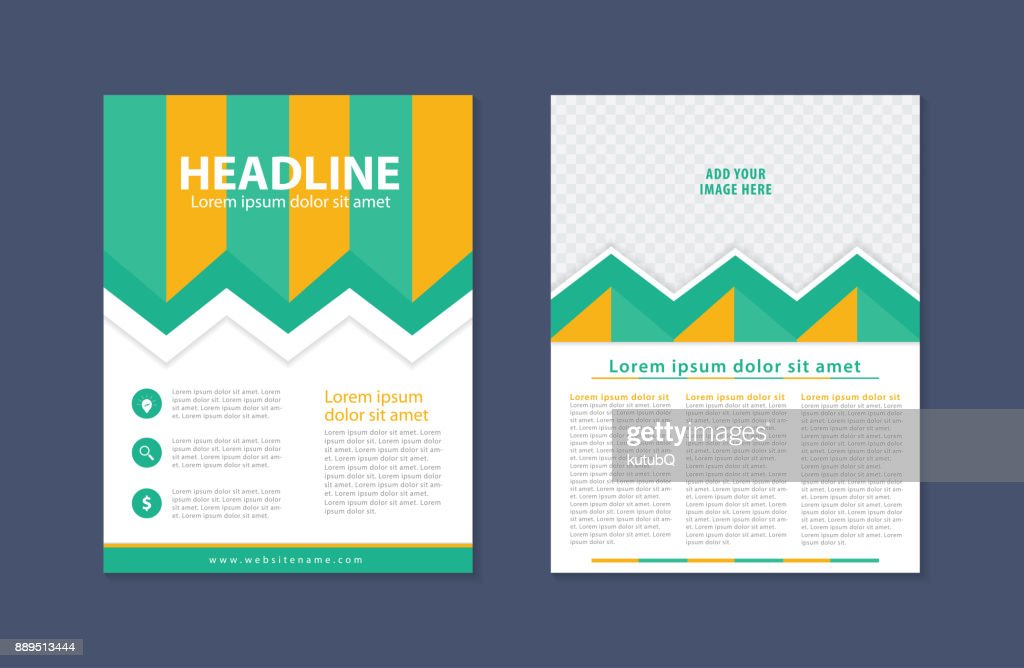 Business Flyer Design Template Modern Brochure Leaflet Catalog
