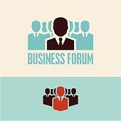 Business forum. Meeting.