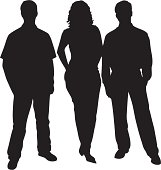 Business Friends Silhouette