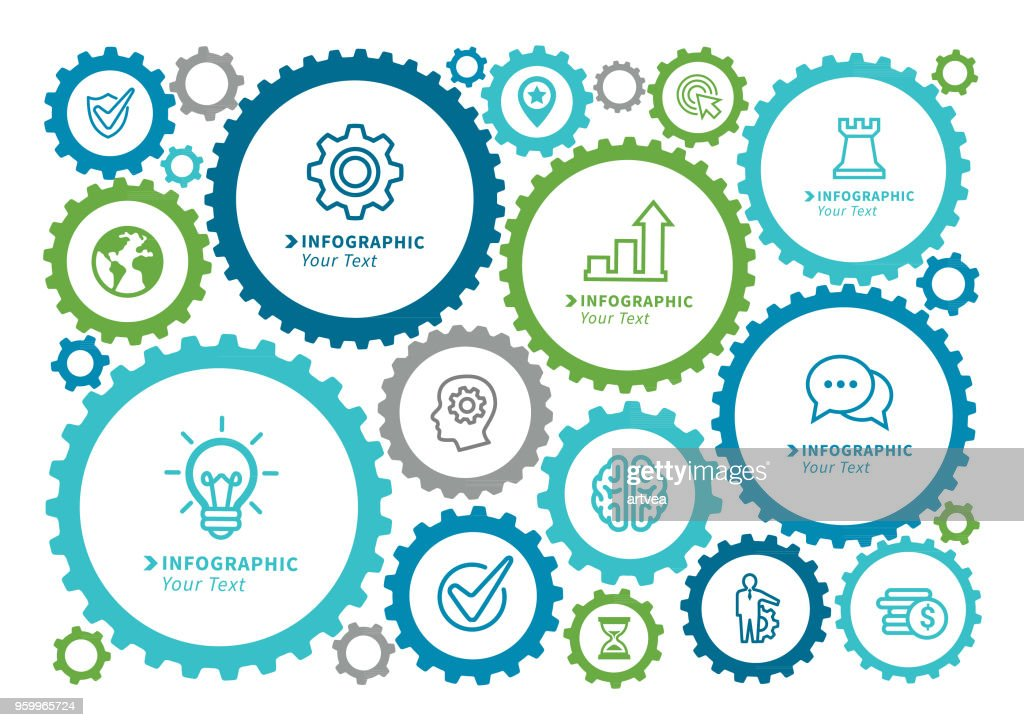 Gear Geschäftskonzept : Stock-Illustration