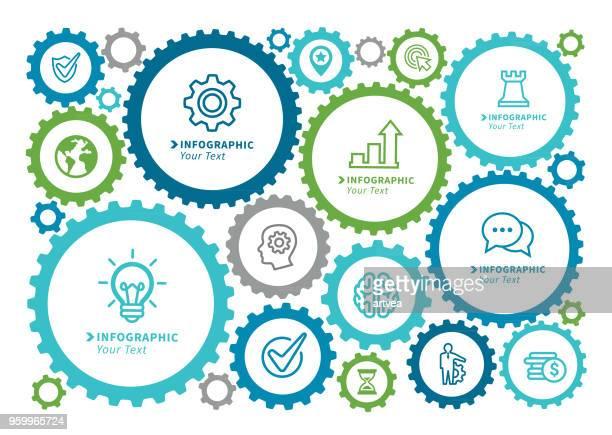 Business Gear Concept