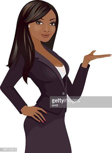 ビジネスの女性にお届けしています。