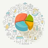 Business graph statistics.