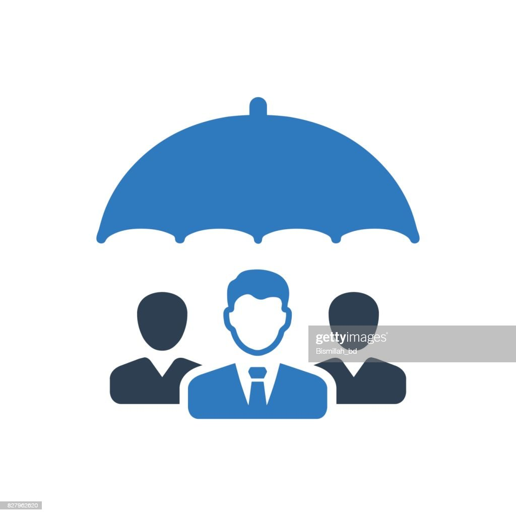 Business Group Protection Icon