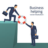 Business helping concept