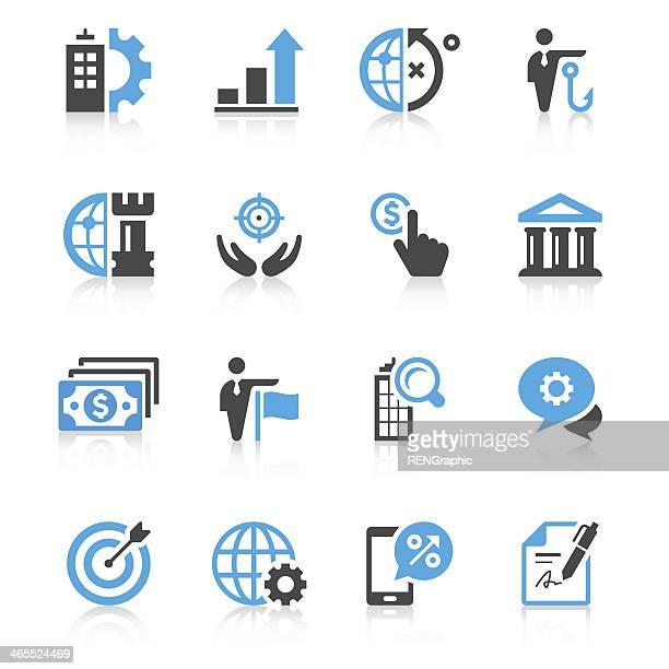 Business Icon Set/präzise Series