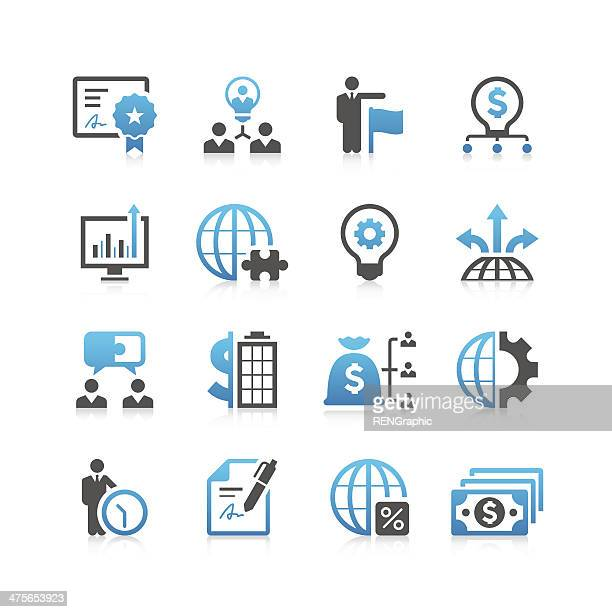 Business Icon Set | Concise Series
